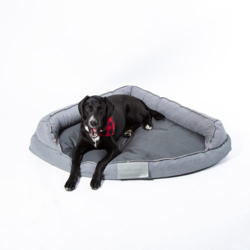 PACK&DEN Corner Cuddler Bed With Orthopedic Foam & Odor Control