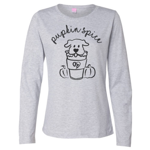 Pupkin Spice Fitted Long Sleeve Shirt