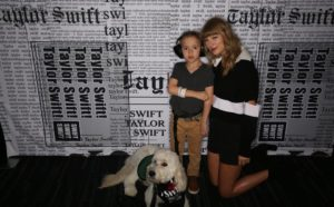 Boy With Autism Meets Taylor Swift After She Helped Him Get A Service Canine