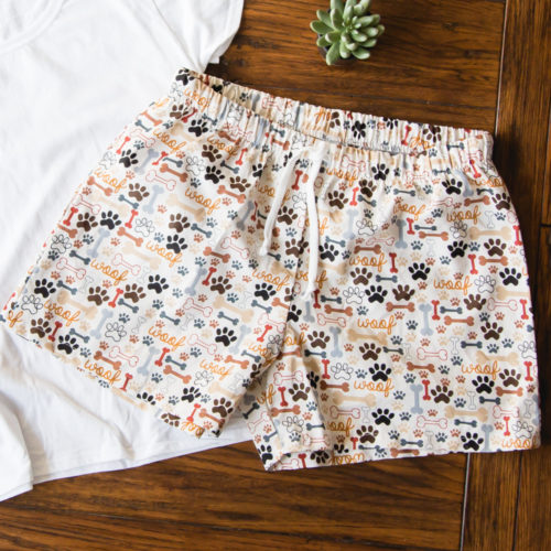 You Had Me At Woof PJ Lounge Shorts
