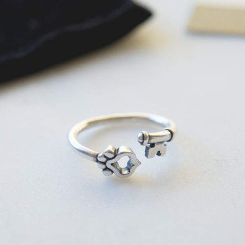 Second Chance Movement™ Set Them Free Sterling Silver Adjustable Ring