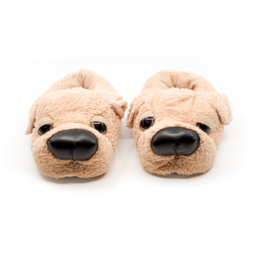 Caramel Brown Sleepy Doggy Slipper
