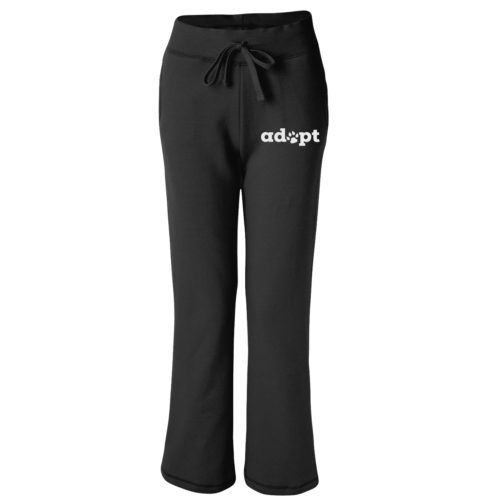 Adopt Paw Embroidered Women's Sweatpants