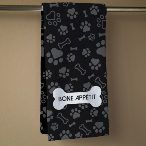 Bone Appetit Hand Towel