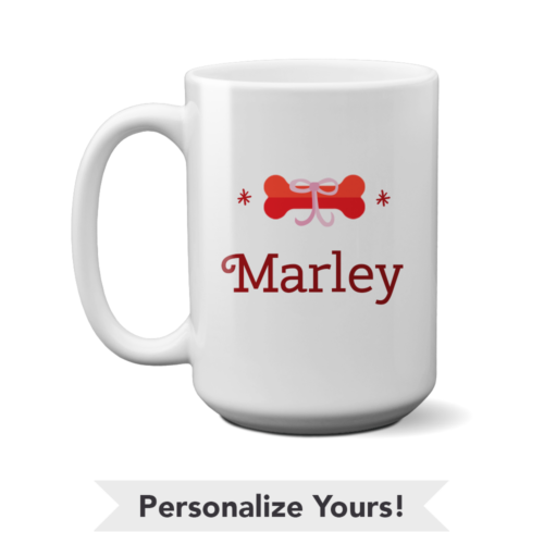 Classic Bone Personalized 15 oz. Mug