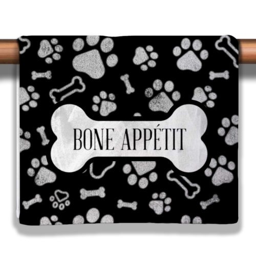 Bone Appetit Petite Decorative Towel