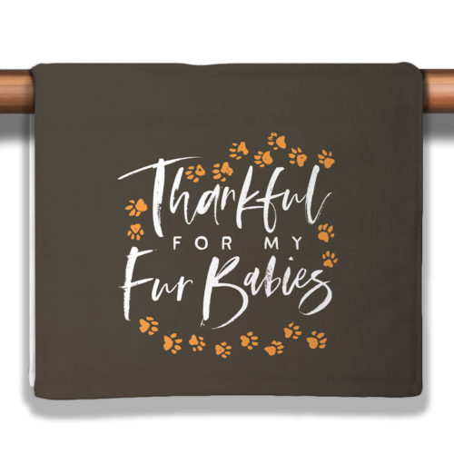 A Season of Thankfulness – Chestnut Petite Decorative Towel