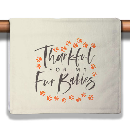 A Season Of Thankfulness - Gravy Petite Decorative Towel