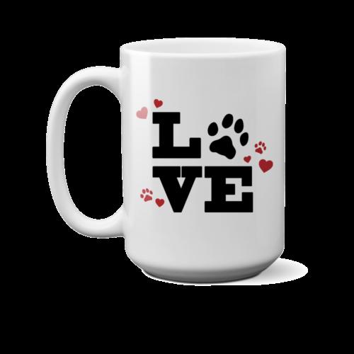 Love Paw 15 oz. Mug