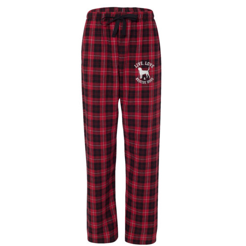 Live, Love & Rescue Ultra-Cozy Flannel Pants