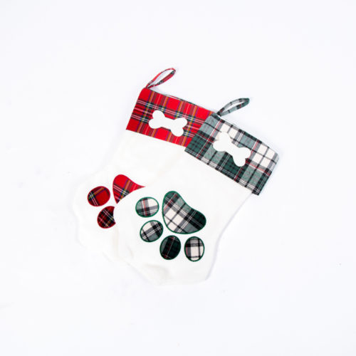 Santa Paws Christmas Stocking