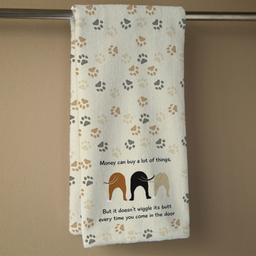 Wiggle Butts Hand Towel