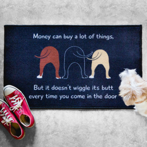 Wiggle Butts Decorative Floor Mat
