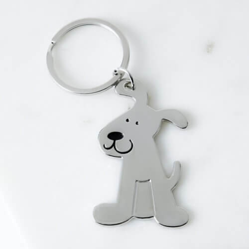 Rescue Pup Keychain