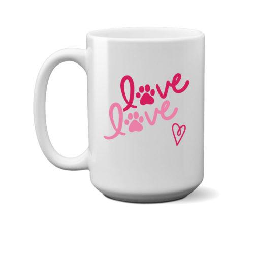 Love Love 15 oz. Mug