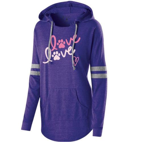 Love Love Varsity Slouchy Hoodie 🐾 Deal 20% Off!
