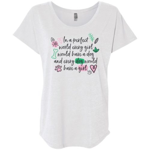 In A Perfect World Slouchy Tee