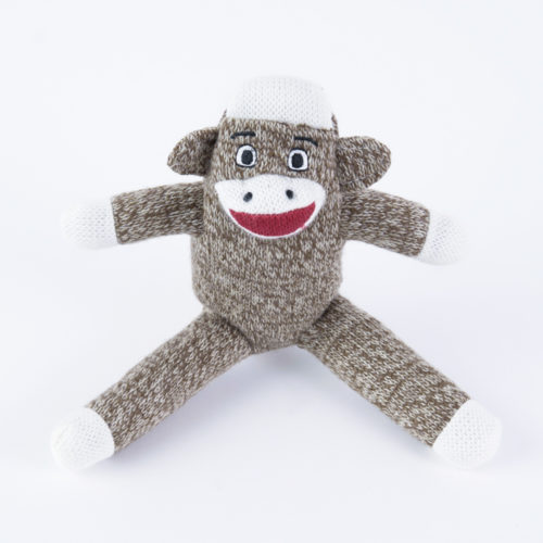 Your Dog's Very Own Sock Monkey