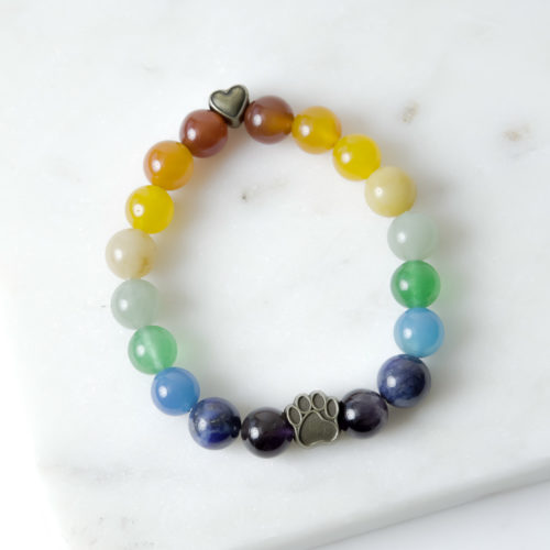 Eternal Rainbow Memorial Bracelet
