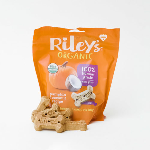 Project Paws® Organic Pumpkin & Coconut Treats by Riley's (5 oz)