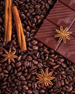coffee and chocolate