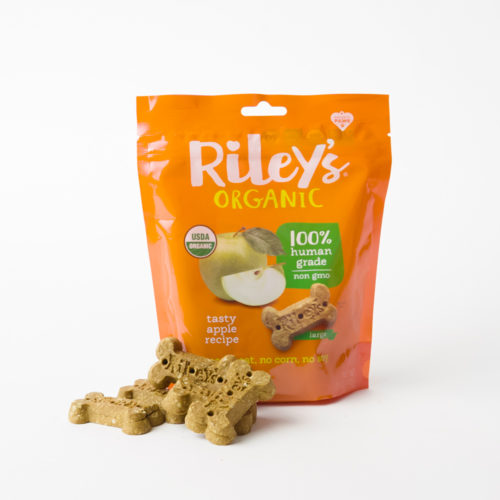 Project Paws® Organic Tasty Apple Treats by Riley's (5 oz)