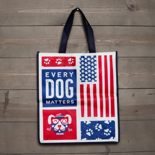 Every Dog Matters Grocery Bag