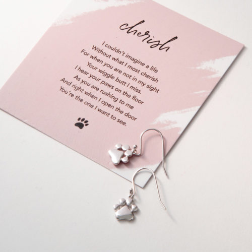 The Miracle Of Love Limited Edition Cherish Sterling Silver Earrings