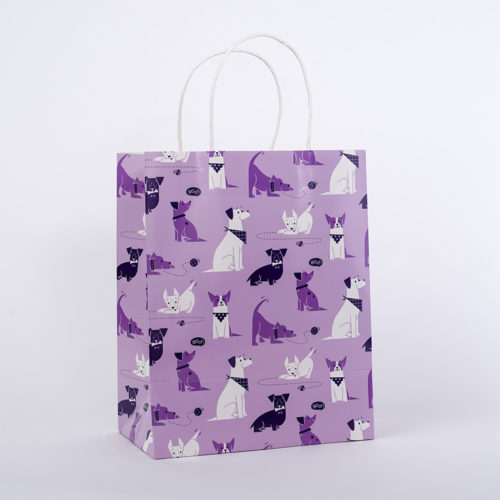 Playful Pups Gift Bag