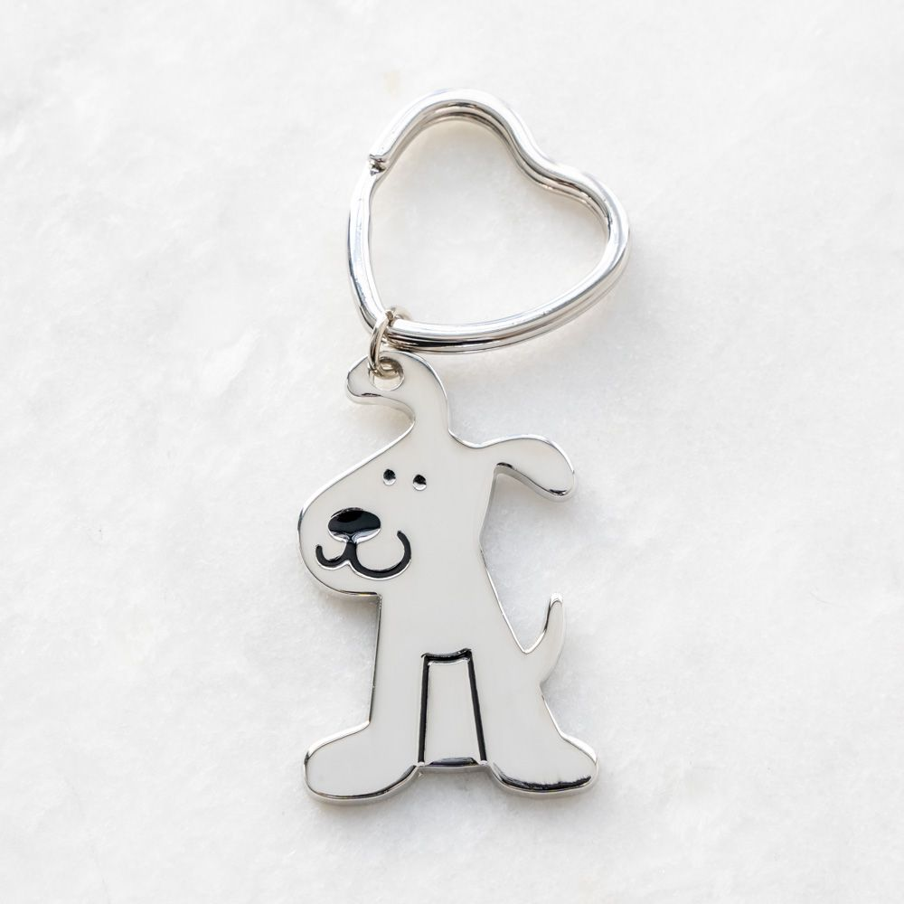 Rescue Pup Keychain & Purse Accessory