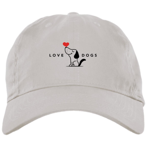 Love Dogs White Dog Mom Hat