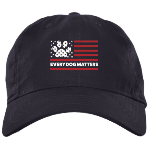 Every Dog Matters Flag Navy Dog Mom Hat