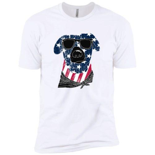 American Dog Premium White Tee