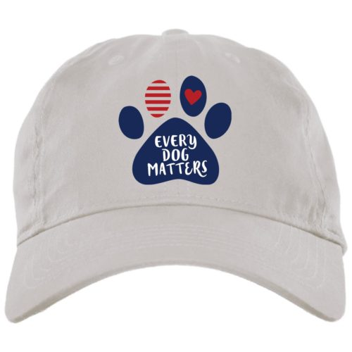 Every Dog Matters Paw White Dog Mom Hat