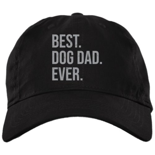 Best Dog Dad Ever Black Dog Dad Hat