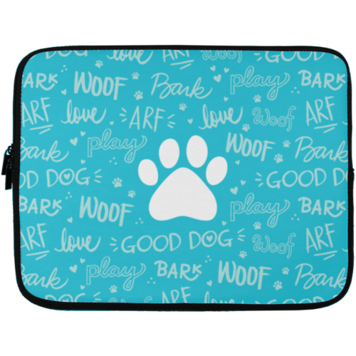 "Good Dog 13"" Laptop Sleeve"