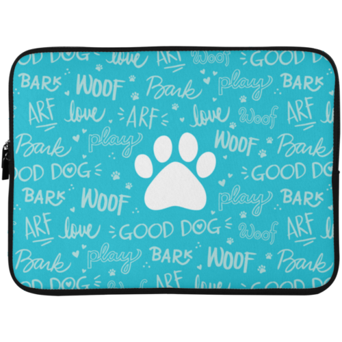 "Good Dog 15"" Laptop Sleeve"