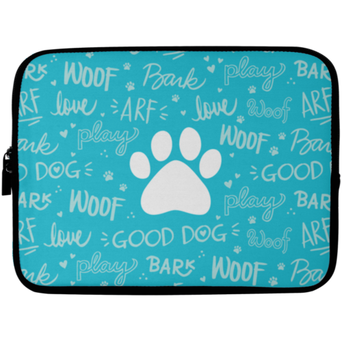 "Good Dog 10"" Laptop Sleeve"