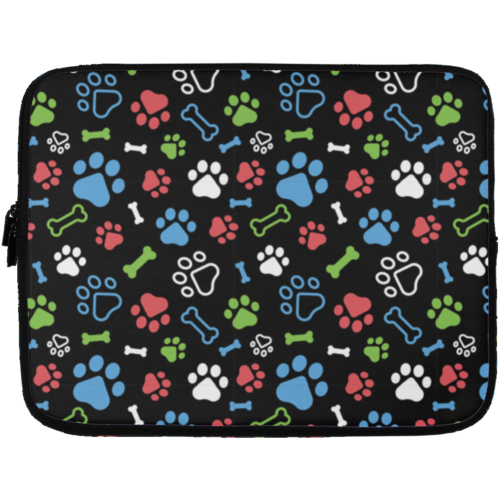 "Bone & Paw 13"" Laptop Sleeve"