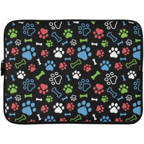 "Bone & Paw 15"" Laptop Sleeve"