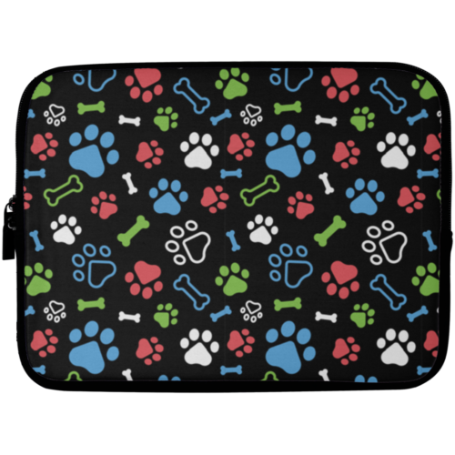 "Bone & Paw 10"" Laptop Sleeve"