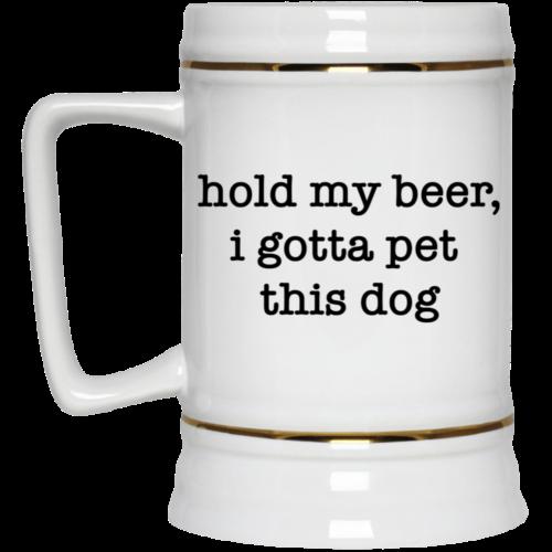 Hold My Beer Stein 22oz.