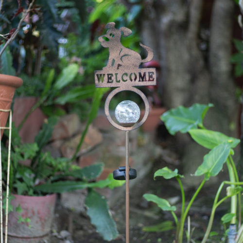 My Favorite Hello Solar Garden Light Post