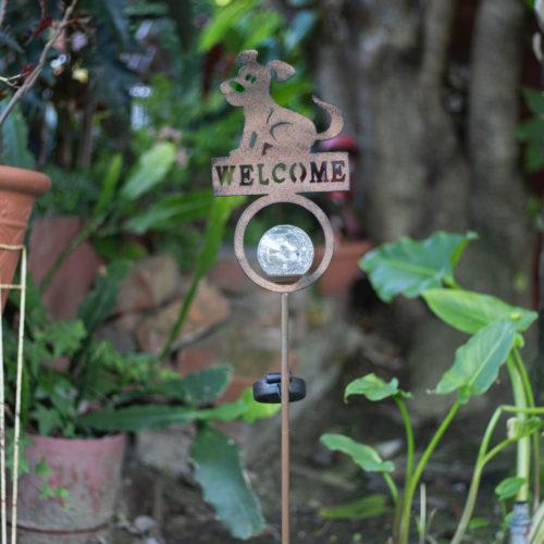 My Favorite Hello Solar Garden Light Post