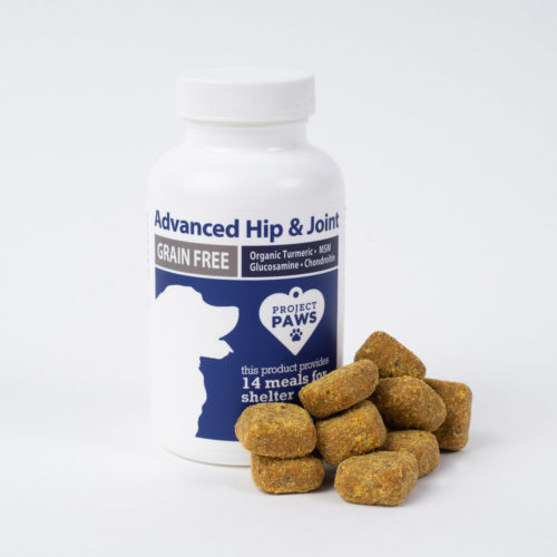 Advanced Hip & Joint Chews with Glucosamine, MSM Chondroitin, & Organic Turmeric (30 ct TRIAL Size)