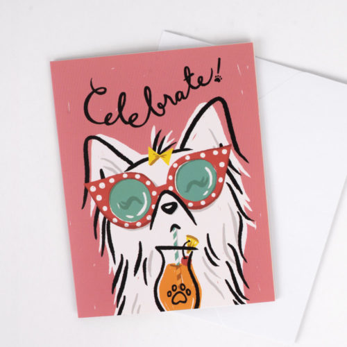 Celebrate! Give Back Greeting Card