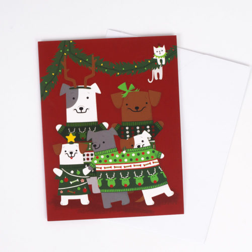 We Love the Pawlidays Give Back Greeting Card