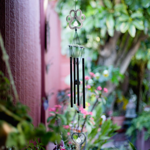 I Hear You In The Wind Memorial Chime