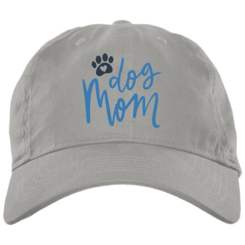 Dog Mom Light Grey Dog Mom Hat
