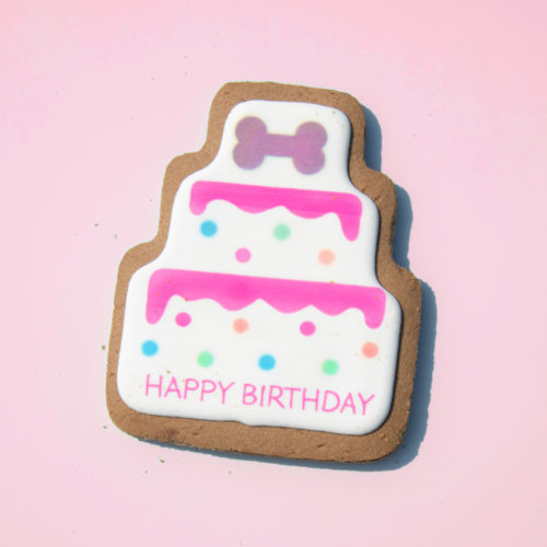 Lazy Dog Birthday Cookie For Girl Dogs (2.25 oz)